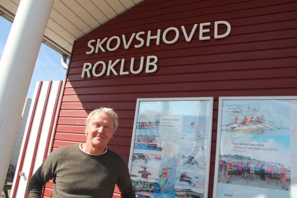 Kim Darfelt fra Skovshoved Roklub har været bidt af Tour de Gudenå siden han deltog første gang i 1970
